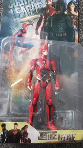 juguete muñecos flash batman superman liga justicia 2 unid