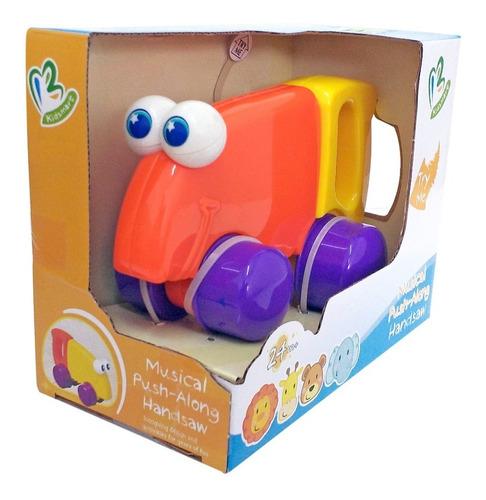 juguete musical interactivo para bebe serrucho c ruedas ojos