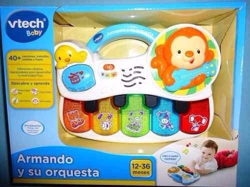 juguete musical pianito armando y su orquesta de vtech