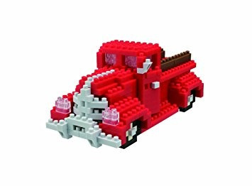 juguete nanoblock sts plus clásica pick up kit de camiones
