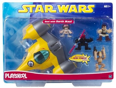 juguete nave stars wars playskool amarillo