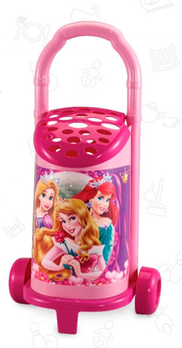 juguete nena changuito de compras barbie princesas original
