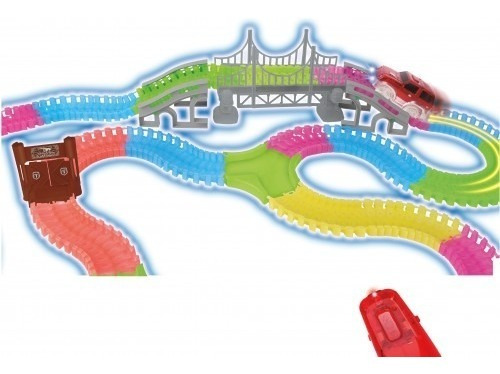 juguete nene pista autos luminosa 230 piezas babymovil 8211