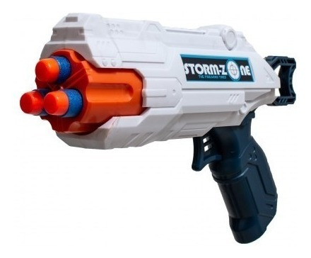 juguete nene pistola dardos blandos explorer fan babymovil
