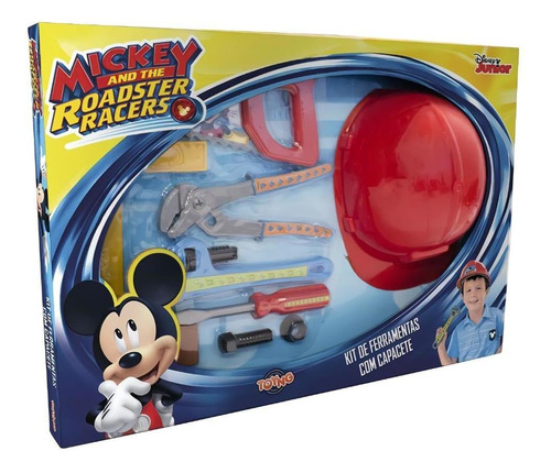 juguete nene set de herramientas mickey casco 8 herramientas