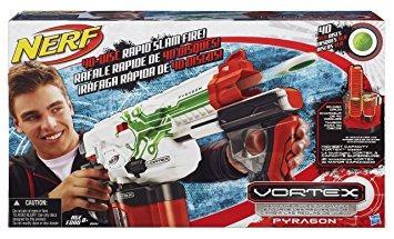 juguete nerf vortex blaster pyragon ecxlusive pistola de ju