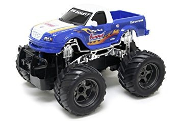 juguete new bright  control de radio monster truck ford big