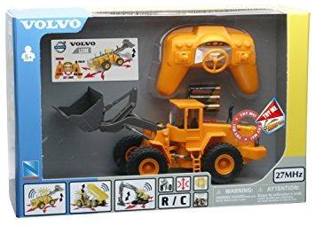 juguete new ray r / c control de radio 0132 volvo l220e pal