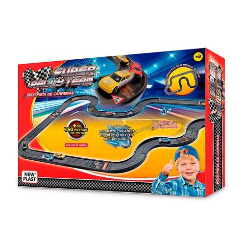 juguete newplast 10631 pista super rally