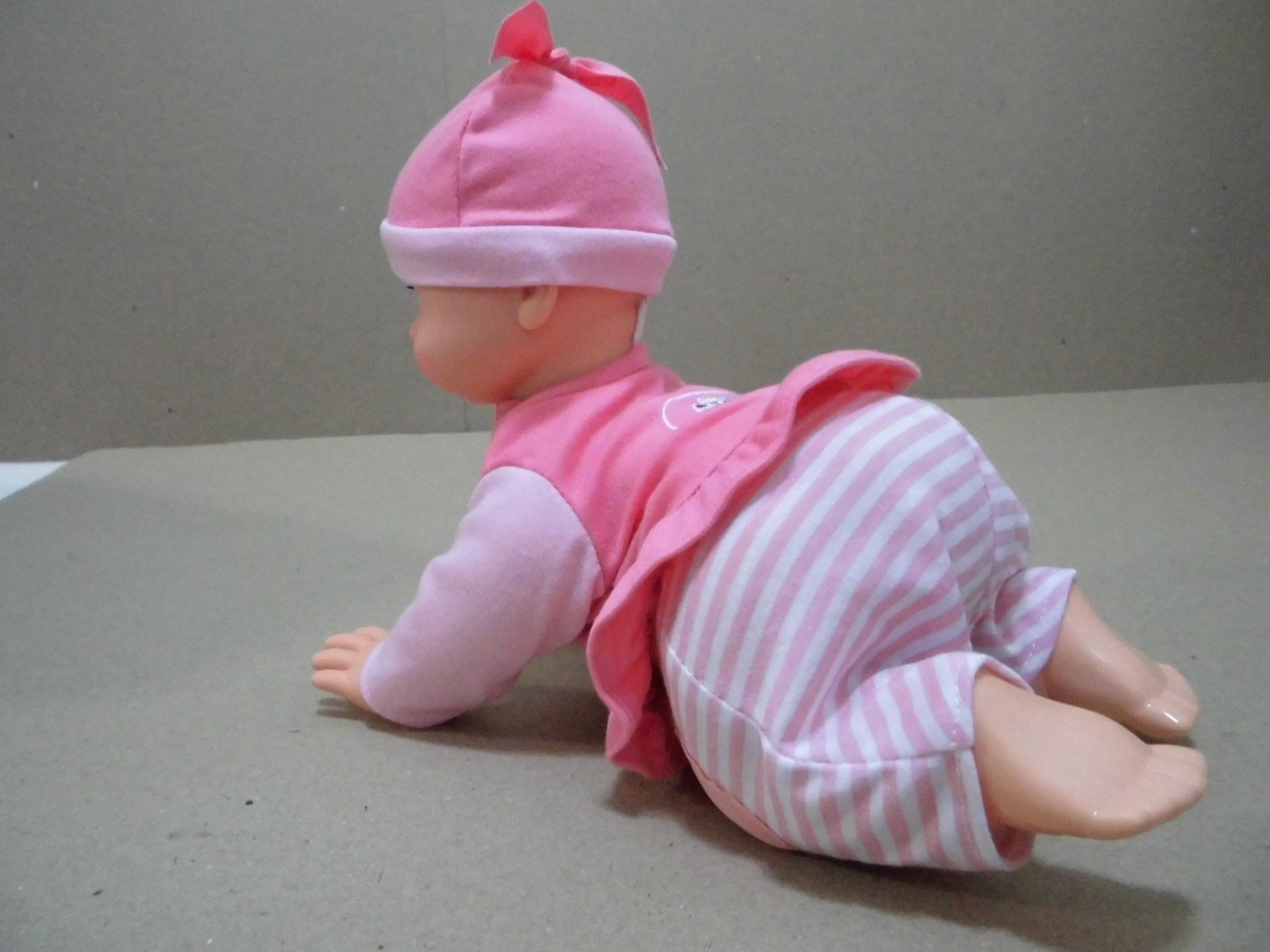 ae6f4f411 juguete niña muñeca bebe querido bebé gateadora con sonido. Cargando zoom.