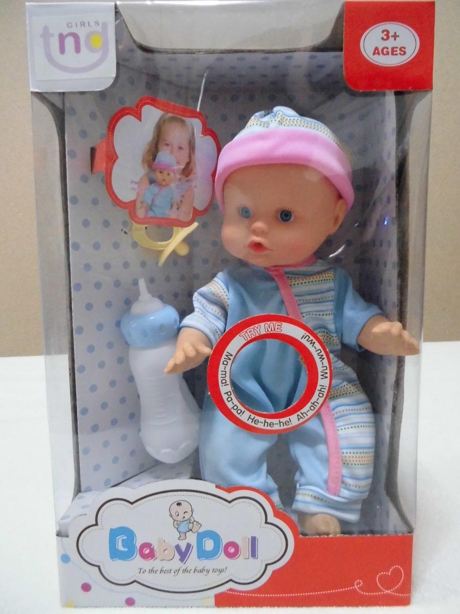 995c2e697454 juguete niña muñeco bebe querido baby doll con sonido habla. Cargando zoom.
