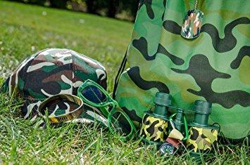 juguete niños camuflaje juguete bundle