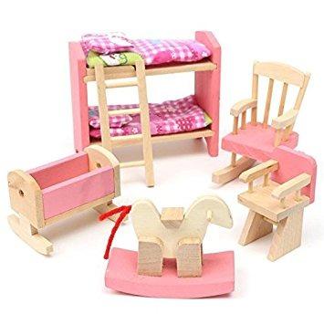 juguete nios casa de juegos de madera para nios casa w