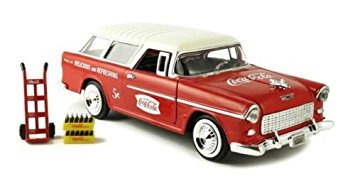 juguete nuevo 0124 motor city classic collection - coca-col