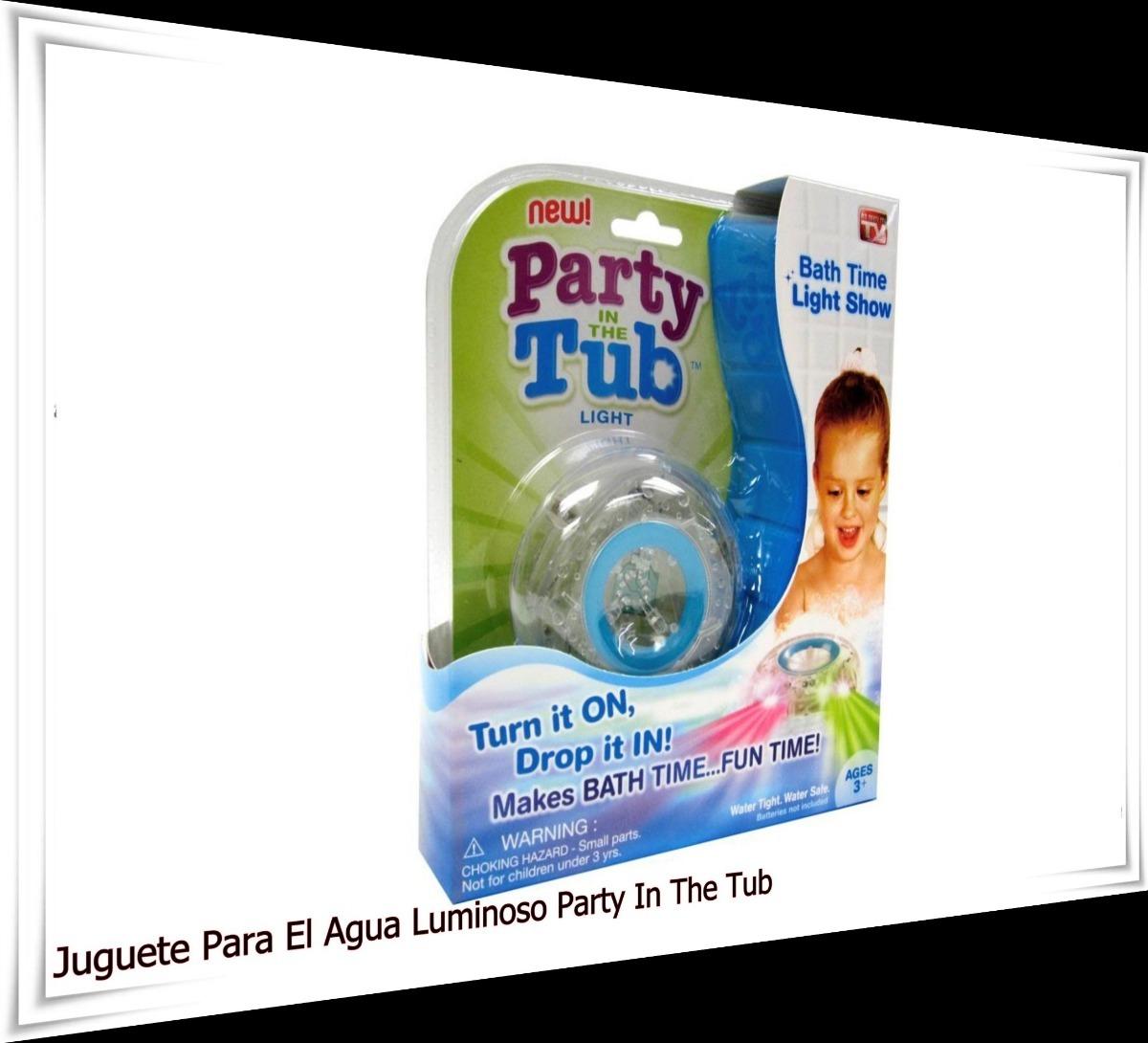 Juguete P/agua Luminoso Party In The Tub Villa Urquiza Cap. - $ 280 ...