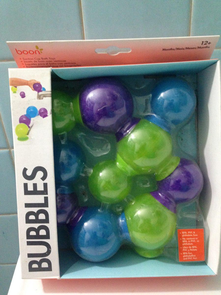 Juguete para ba o con ventosas bubbles de boon burbujas for Ventosas para bano