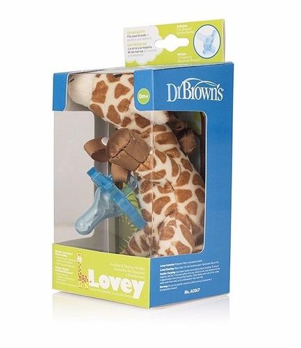 juguete para bebe peluche chupo lovey jirafa