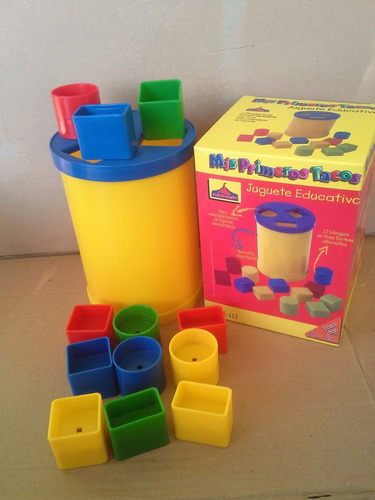 juguete para bebes tobo con tacos figuras geometricas
