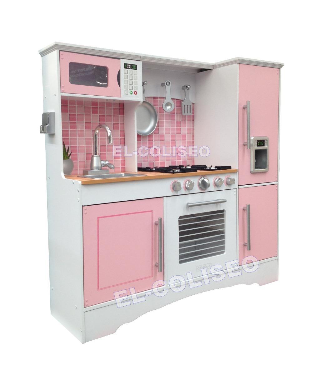 Juguete para casa accesorios kidkraft color rosa ni a - Casitas de juguete para ninas ...