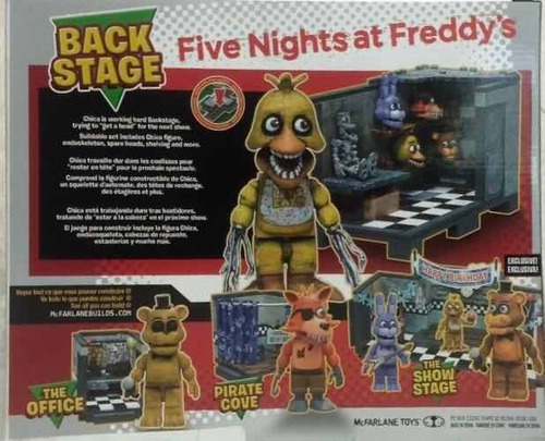 juguete para construir five nights at freddy. withered chica