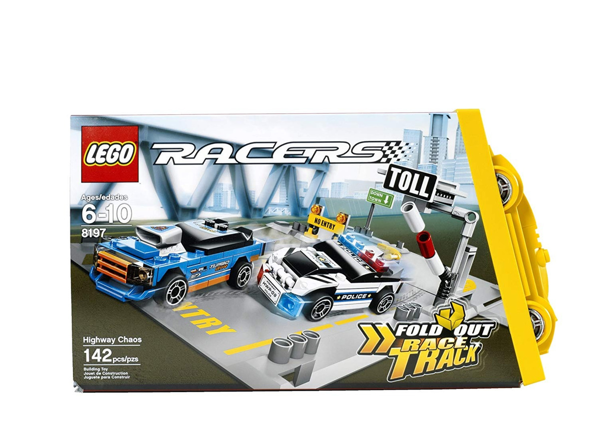 Para Lego Autopista Construir La En Juguete 8197 Racers Caos 76IfvgYby