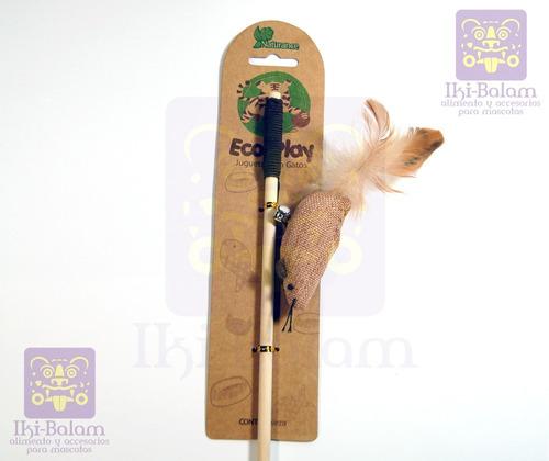 juguete para gato naturance eco-play