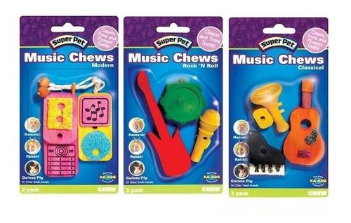 juguete para hamster «musica»