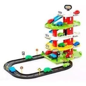 juguete para nene estación parking 4 niveles 7002 rondi