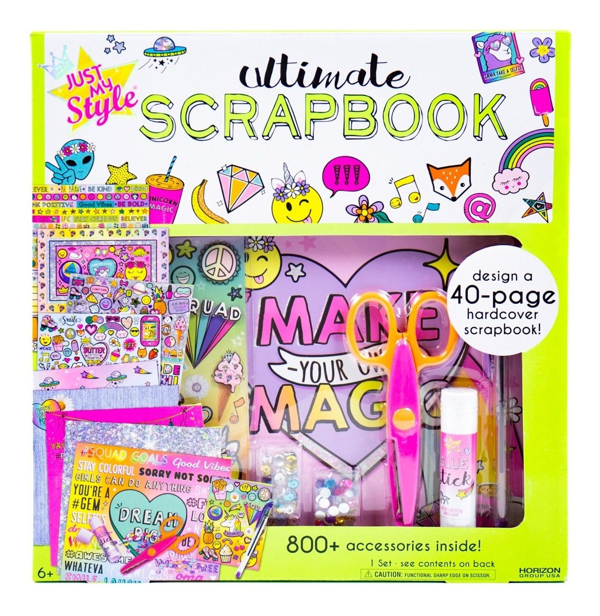 UNO Scrapbook Page Kit