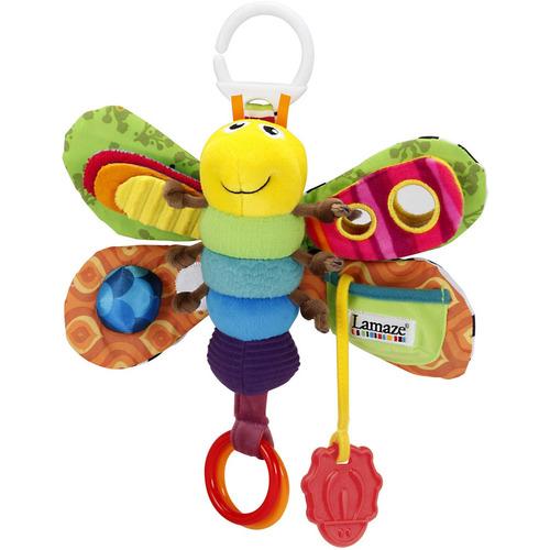 juguete para niños de luciérnaga lamaze con clip