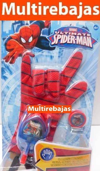 Exclusivo Juguete Para Niños De Guante Spiderman cTK1Ju3Fl