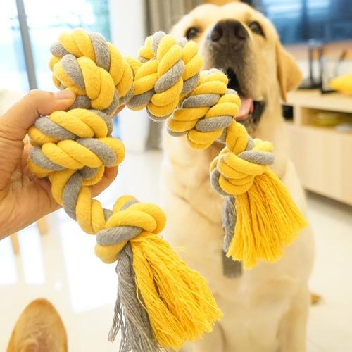 juguete para perro cuerda multi nudo super resistente