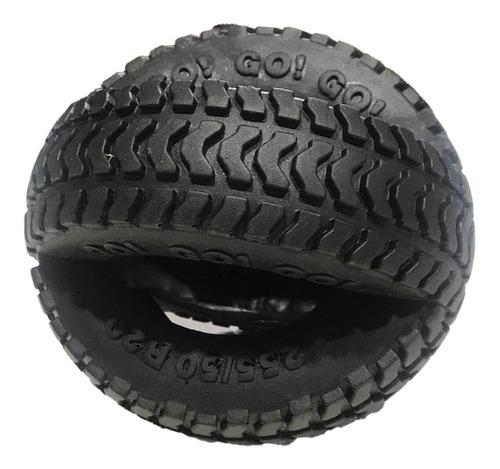 juguete para perro macizo rueda cruzada super resistente