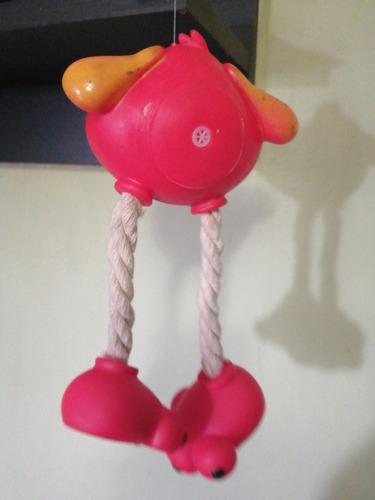 juguete para perro morder y jalar 20cm (5v)
