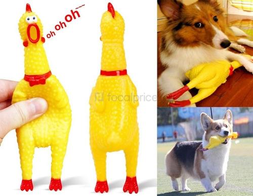 juguete para perro pollo