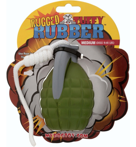 juguete para perros medium rugged tuffy- no kong