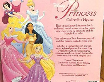 juguete parque disney princesa estatuilla playset w13