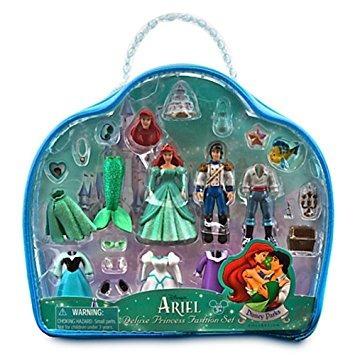 juguete parques disney ariel y el príncipe eric deluxe set