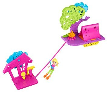 juguete party pared polly pocket camping playset