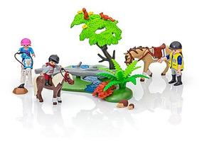 Juguete Paseo De Ponis En El Campo Playmobil