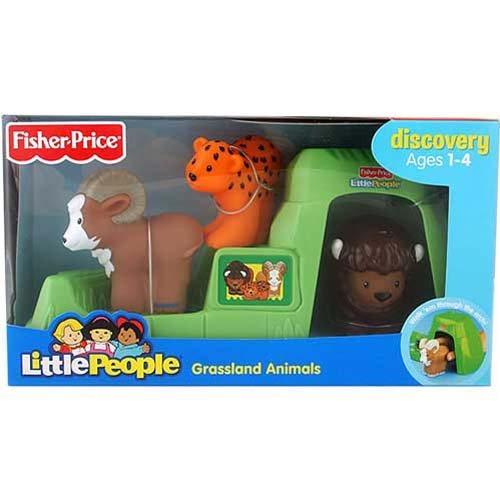 juguete pastizales fisher price verde