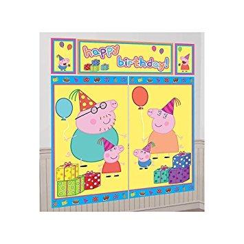 juguete peppa pig escena setter (5 total piezas)