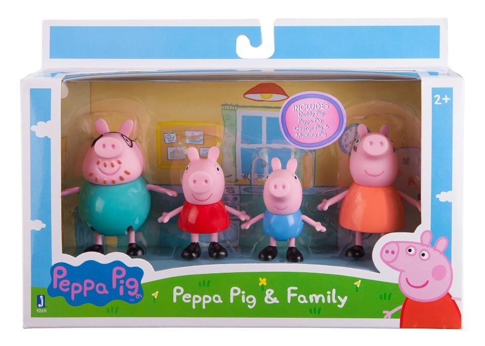 Peppa Pig Juguete 100Original Familia Y La Usa dCrBoex