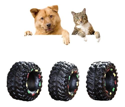 juguete perro gato chillon llantita llanta muy lindo