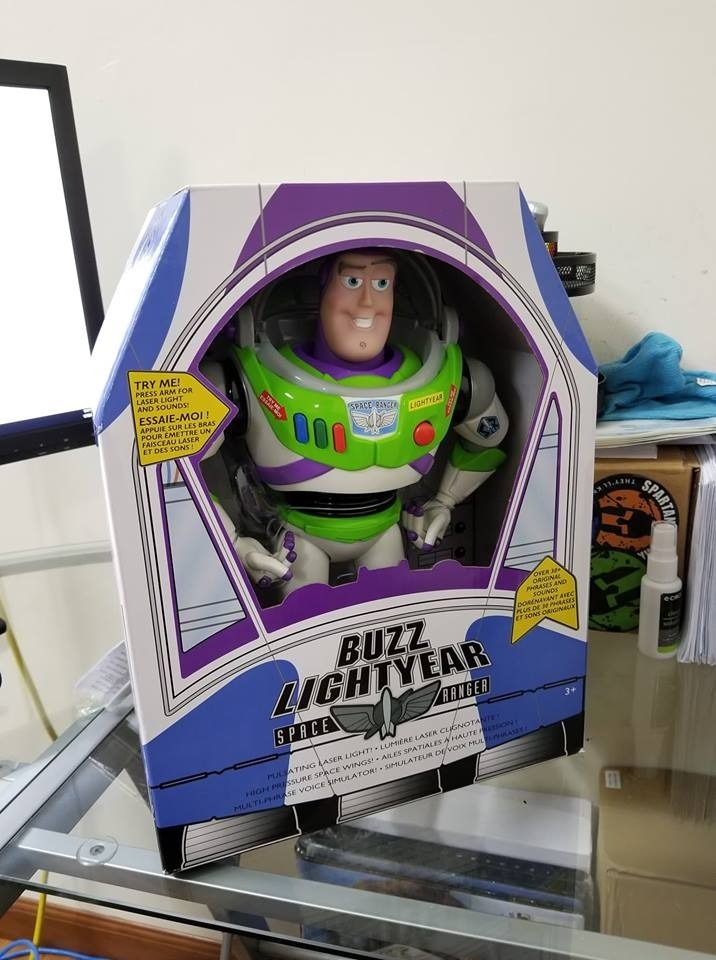 37a916da93e70 juguete personaje toy story buzz lightyear frases original. Cargando zoom.