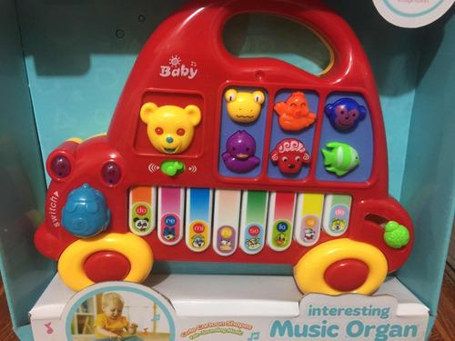 juguete piano musical para bebé sonido sonajero niñas niños