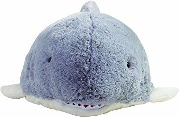 juguete pillow pets gris almohada pet- peewee tiburón - 11