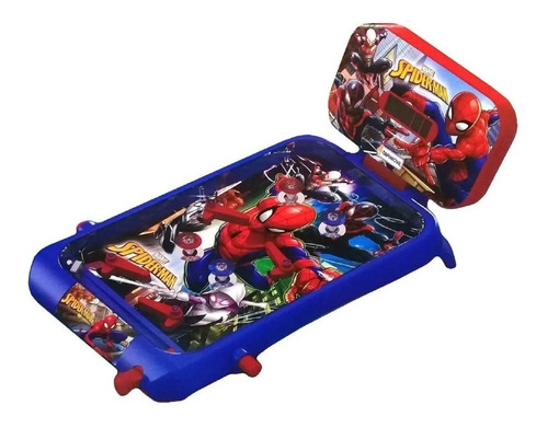 juguete pinball avengers spiderman luces sonido tapimovil