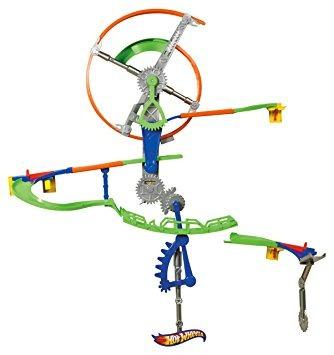 juguete pistas hot wheels pared auto motion speedway