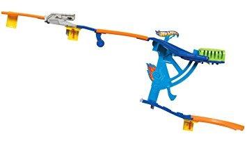 juguete pistas hot wheels pared deslizante con brazo girato
